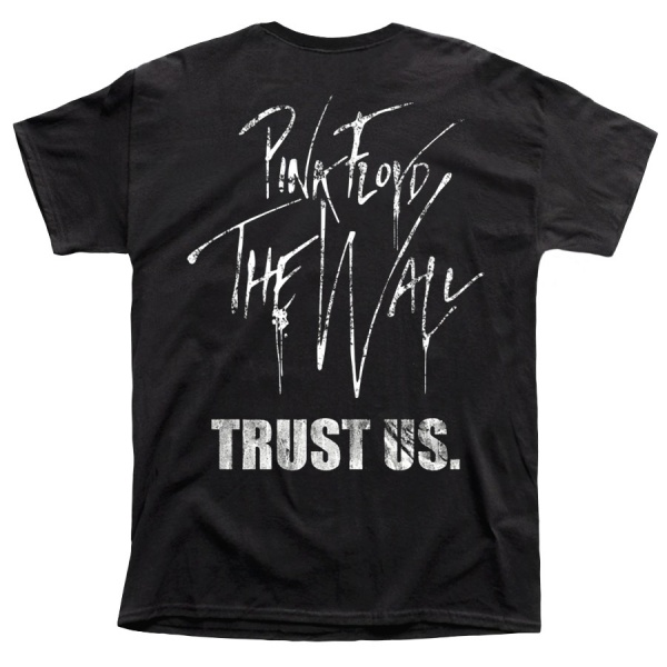 """PINK FLOYD """"THE WALL TRUST US"""""""