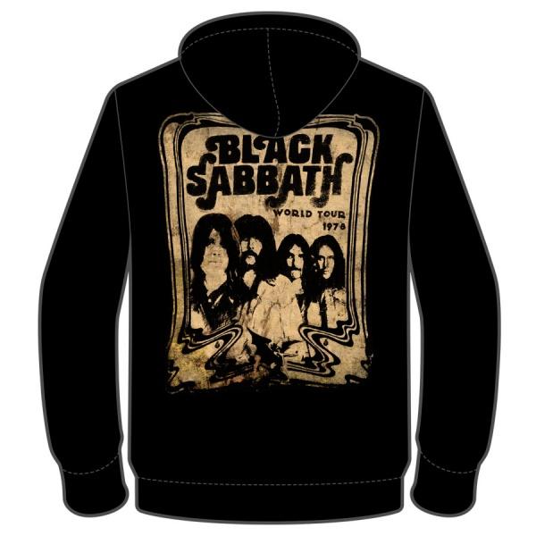 "BLACK SABBATH ""WORLD TOUR 1978"" polerón"