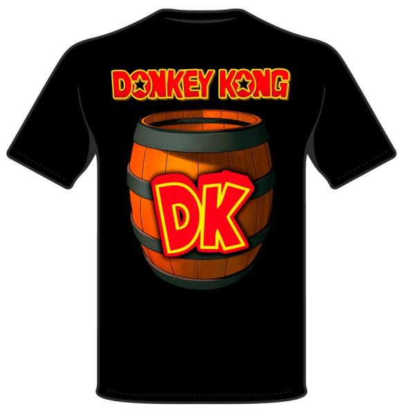 DONKEY KONG DK vintage game polera