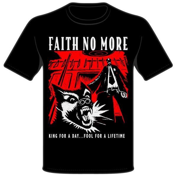 """FAITH NO MORE """"KING FOR A DAY"""""""