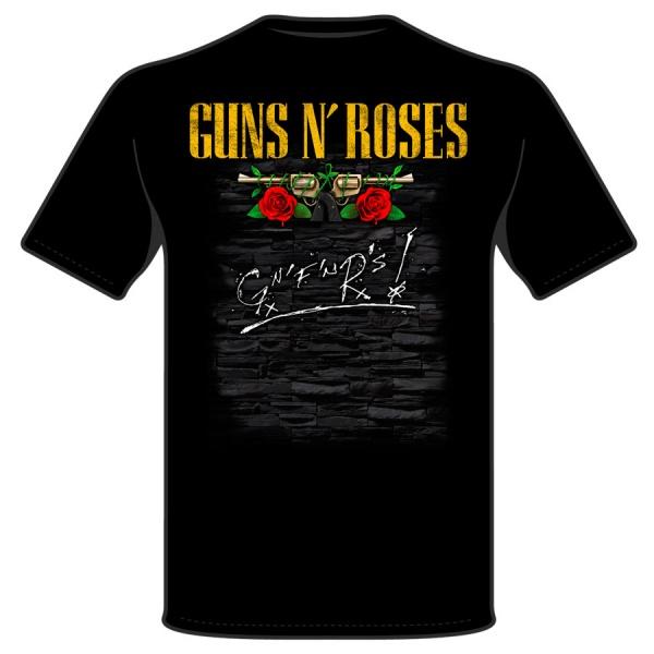 GUNS AND ROSES GUITAR & HAT