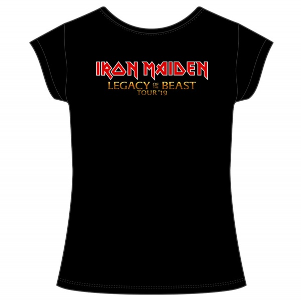 """IRON MAIDEM """"LEGACY OF THE BEAST"""" mujer"""