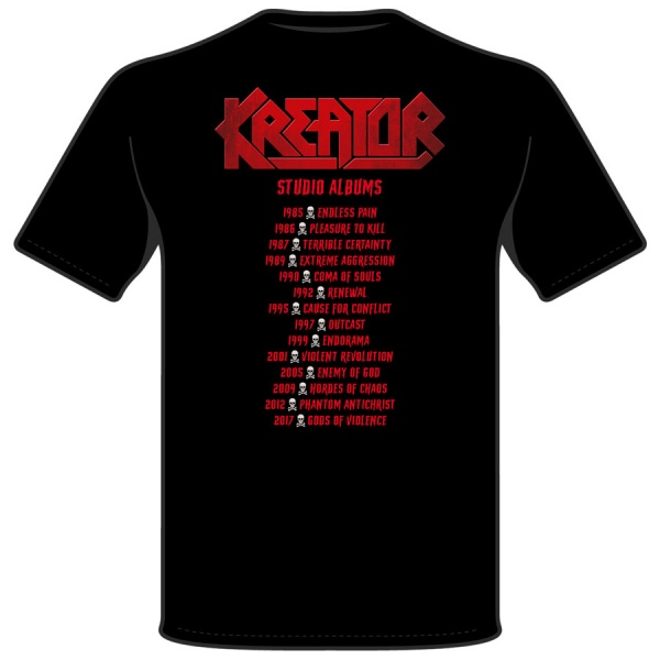 "KREATOR ""DISCOGRAPHY"""