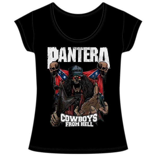 """PANTERA """"COWBOYS FROM HELL"""" mujer"""