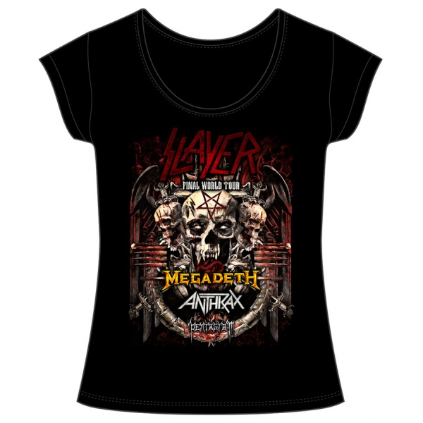 "SLAYER ""FINALWORLD TOUR"" mujer"