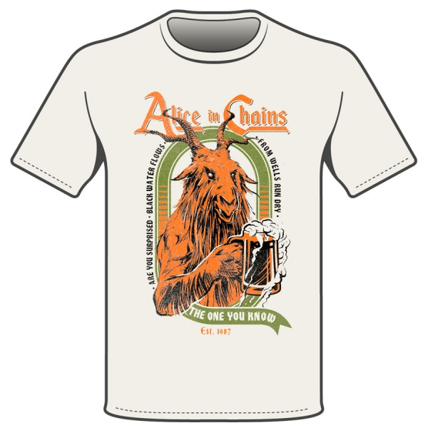 ALICE IN CHAINS - HOLLOW polera