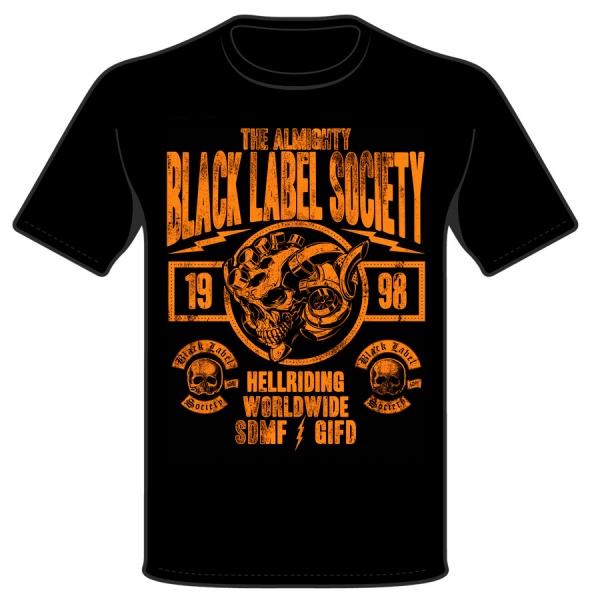 """BLACK LABEL SOCIETY BLS """"HELLRIDING"""" polera"""
