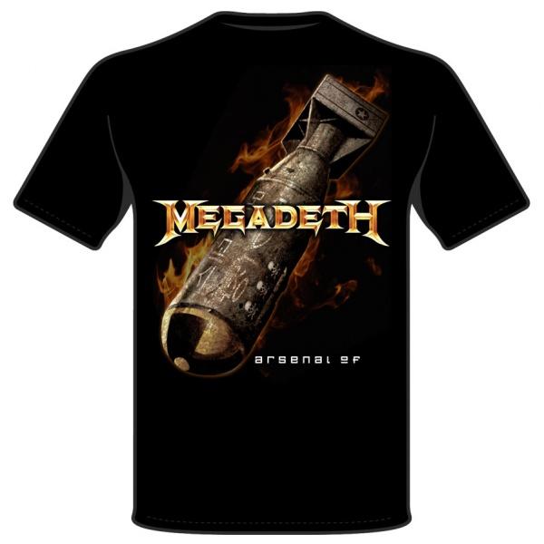"MEGADETH ""ARSENAL"" polera"