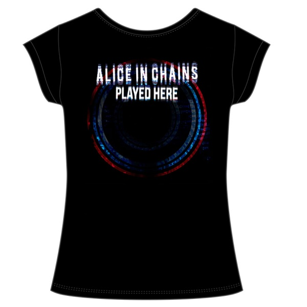 """ALICE IN CHAINS """"PLAYED HERE polera mujer"""