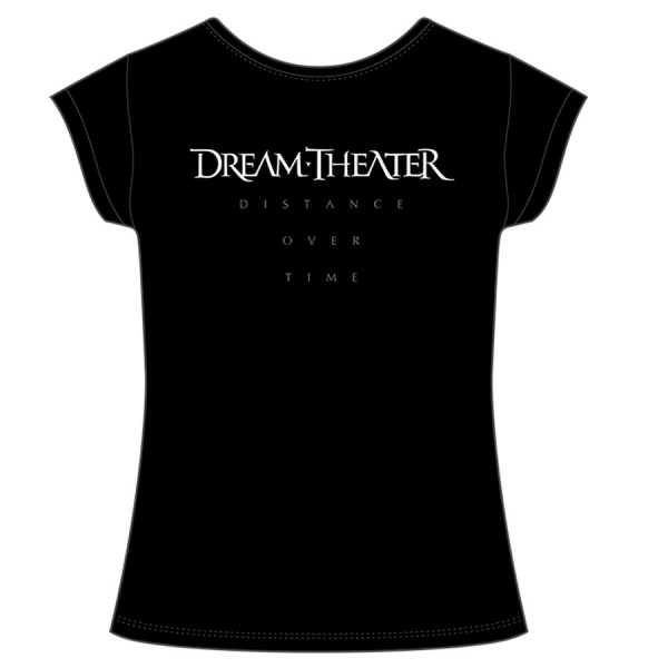 """DREAM THEATER """"DISTANCE OVER TIME"""" polera mujer"""