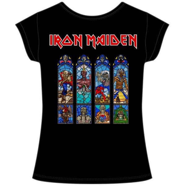 "IRON MAIDEN ""LEGACY TOUR BANDERAS"" polera mujer"
