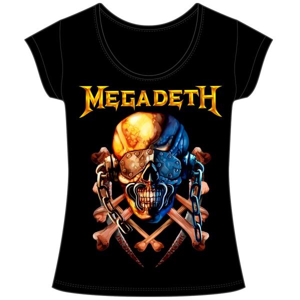 """MEGADETH """"VIC"""" polera mujer"""