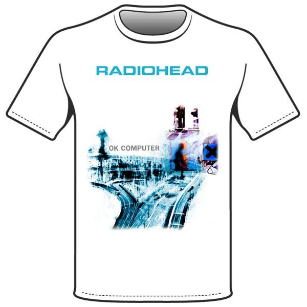 "RADIOHEAD ""OK COMPUTER"" polera"