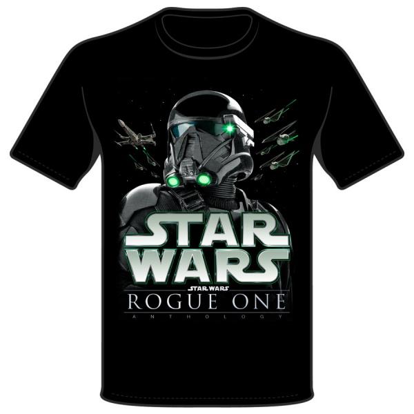 "STAR WARS ""ROUGE ONE"" polera niño"