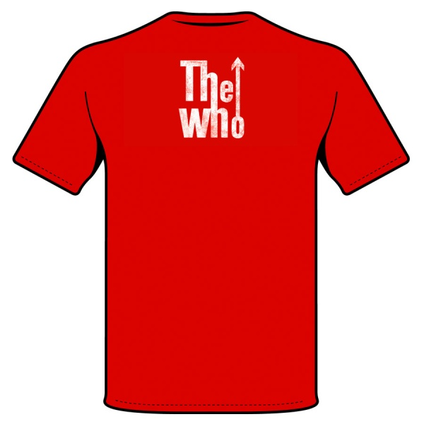THE WHO -LOGO- polera hombre