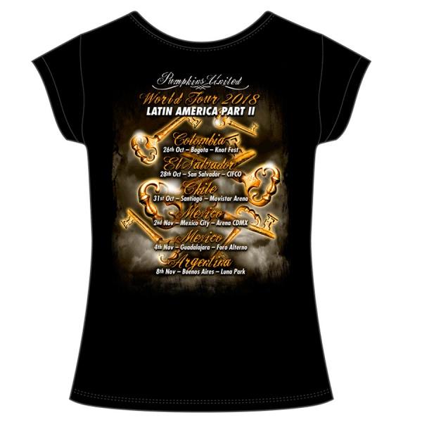 """HELLOWEEN """"PUMPKINS TOUR"""" polera mujer"""