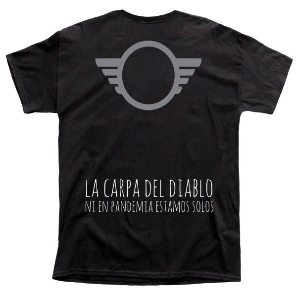 """LA CARPA DEL DIABLO """"EDICIÓN PANDEMIA"""" polera hombre"""