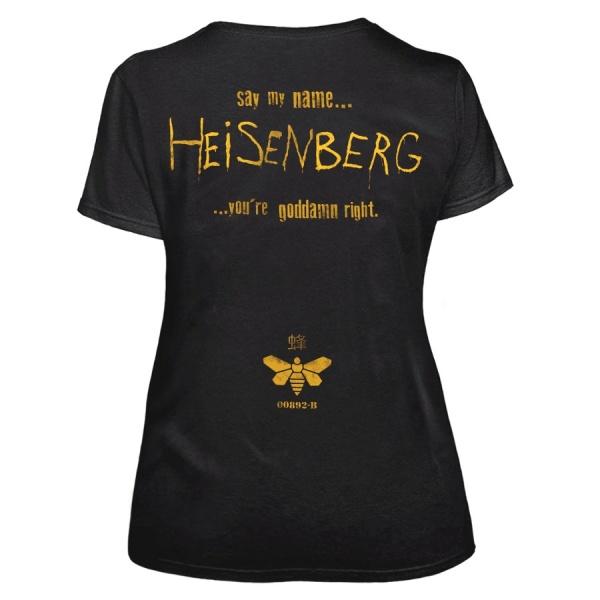 """BREAKING BAD """"SAY MY NAME HEISENBERG"""" polera"""