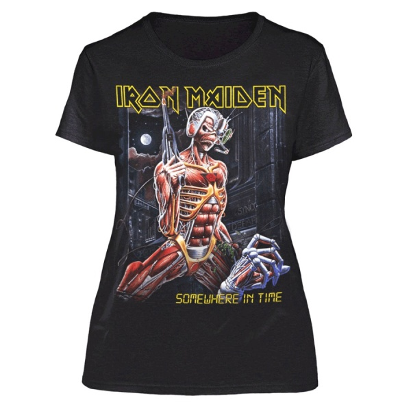 """IRON MAIDEN """"SOMEWHERE IN TIME"""""""