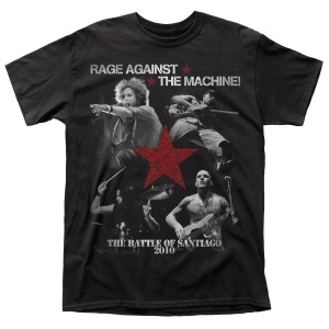 "RAGE AGAINST THE MACHINE - RATM ""THE BATTLE OF SANTIAGO 2010"" polera"