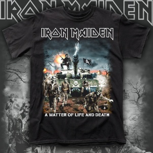 IRON MAIDEN A MATTER OF LIFE AND DEATH polera
