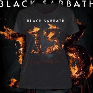 "BLACK SABBATH ""13"" POLERA"