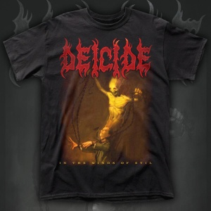 """DEICIDE """"in the Minds of Evil"""" POLERA"""