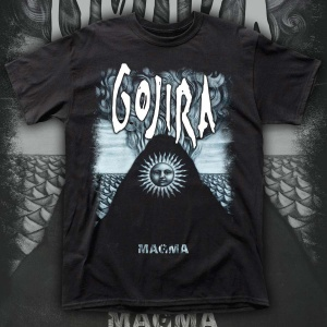 "GOJIRA ""MAGMA"" POLERA"