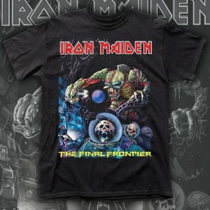 """IRON MAIDEN """"The Final Frontier"""" POLERA"""