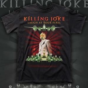 """KILLING JOKE """"Laugh At Your Peril"""" polera"""