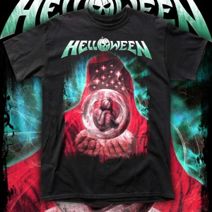 """HELLOWEEN """"The Time of the Oath"""" POLERA"""