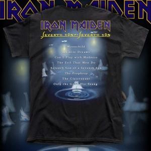 """IRON MAIDEN """"Seventh Son of a Seventh Son"""" polera"""