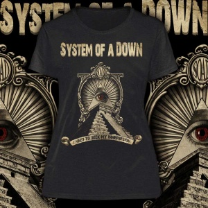 """SYSTEM OF A DOWN """"I Need to Seek my Innervision"""" POLERA"""